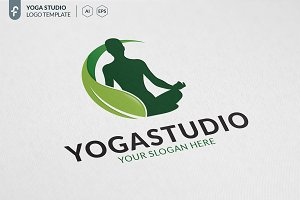 Yoga Studio Logo