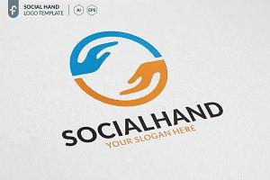Social Hand Logo