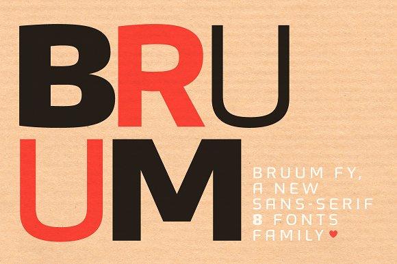 Bruum FY Light Italic