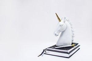 Unicorn Styled Stock Photo