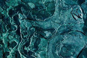 Green Organic Stone Texture