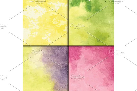 Art Watercolor Splash Vector Style Seamless Pattern Artistic Drawing Graphic Illustration Colorful Hand Drawn Water Color Spray Texture Spots Backdrop Grunge Paint
