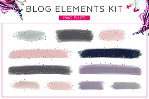Blog Elements Kit Vol. 1
