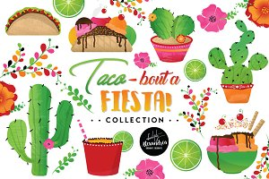 Taco Bout A Fiesta Graphics Bundle