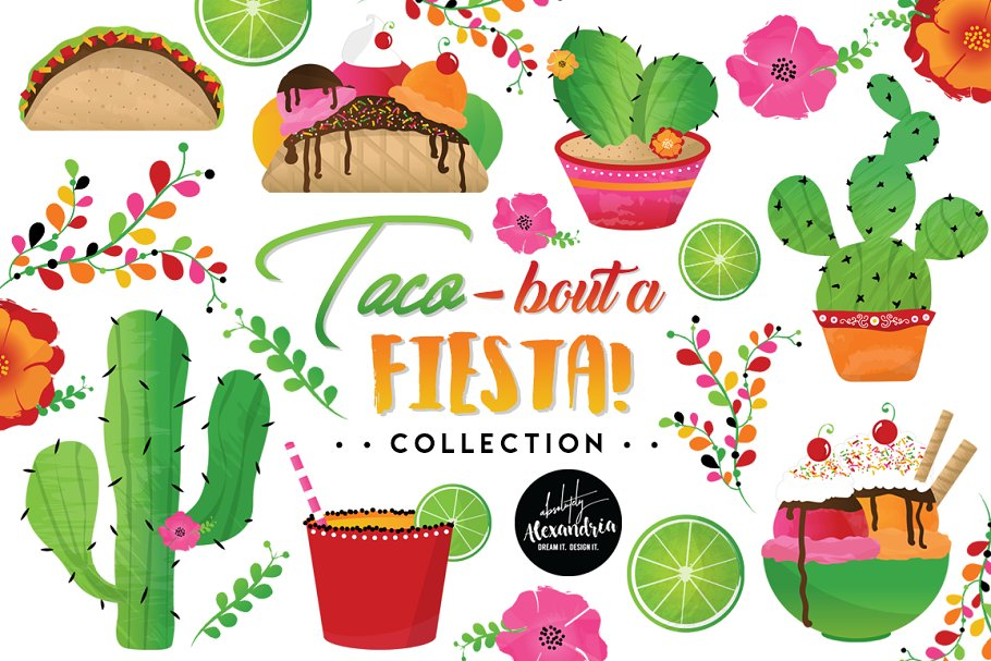 Cactus fiesta. Taco bout a graphics