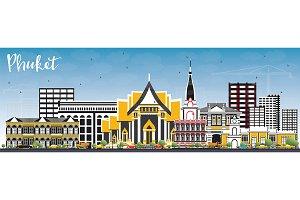 Phuket Thailand City Skyline