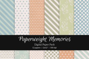 Patterned Paper - Forgotten Dreams