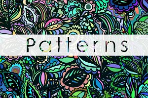 3 beautiful patterns for your design