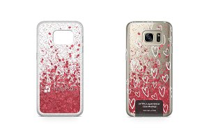 Galaxy S7 UV TPU Liquid Glitter Case