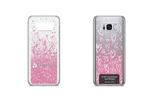Galaxy S8 UV TPU Liquid Glitter Case