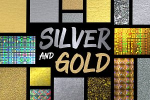 24 Silver and Gold Styles