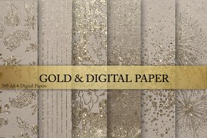 Gold & Digital Paper
