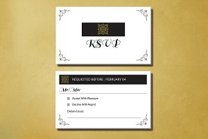 Wedding RSVP Template