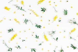 Flowers pattern