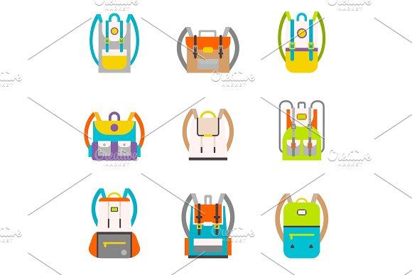 Bag Icons Set