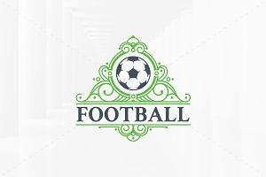 Royal Football Logo Template