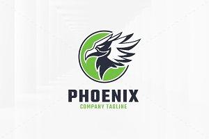 Phoenix Head Logo Template