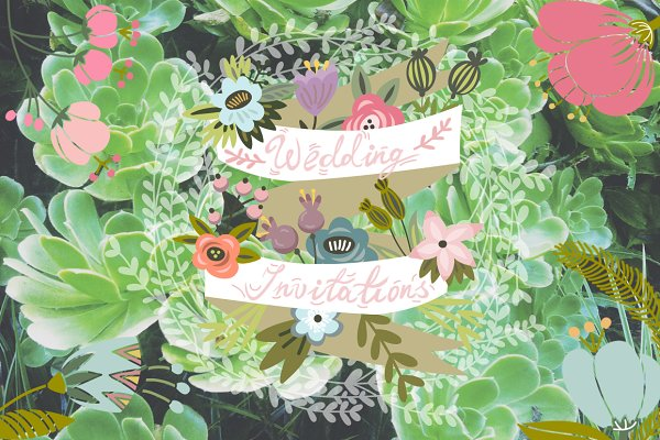 Invitation Templates: Marusha Belle - Invitations
