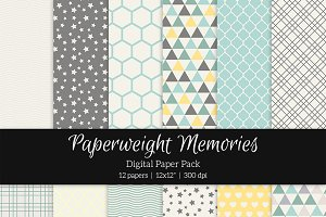 Patterned Paper - Spring Memories