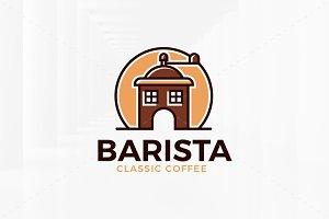 Barista Logo Template