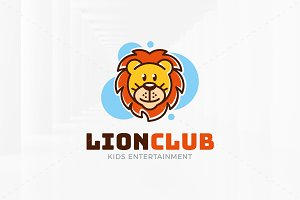 Lion Club Logo Template