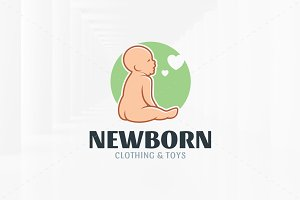 New Born Logo Template