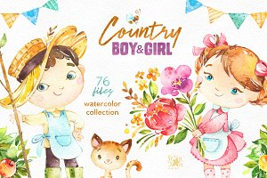 Country Boy & Girl Collection