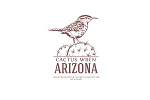 Arizona State Bird Logo