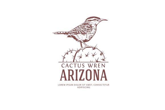Arizona State Bird Logo
