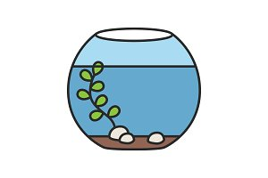 Aquarium color icon