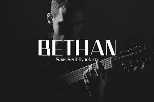 Bethan Sans Serif 4 Font Family Pack