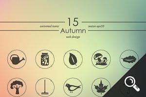 15 AUTUMN icons