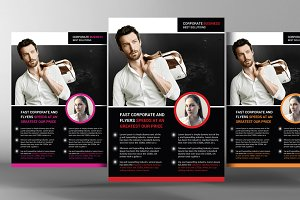 Global Business Agency Psd Flyer