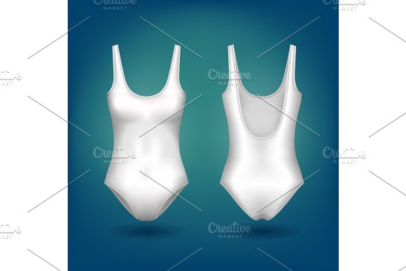 Isolated Women Or Ladies Female Swimsuit Clothing