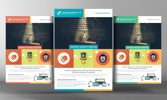 Develop Corporate Business Flyer