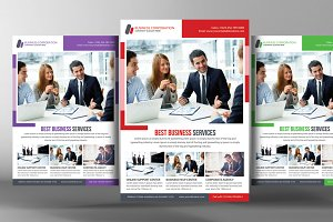 Consulting Business Flyer Template