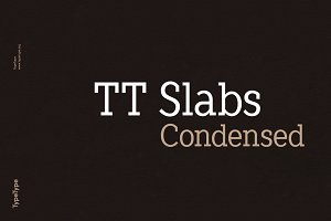 TT Slabs Condensed | 70% OFF