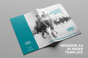Multipurpose A4 Business Brochure