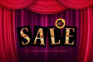 Shining sale spring!