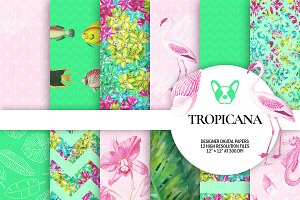 Tropical Digital Papers