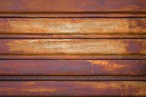 Rusty door garage