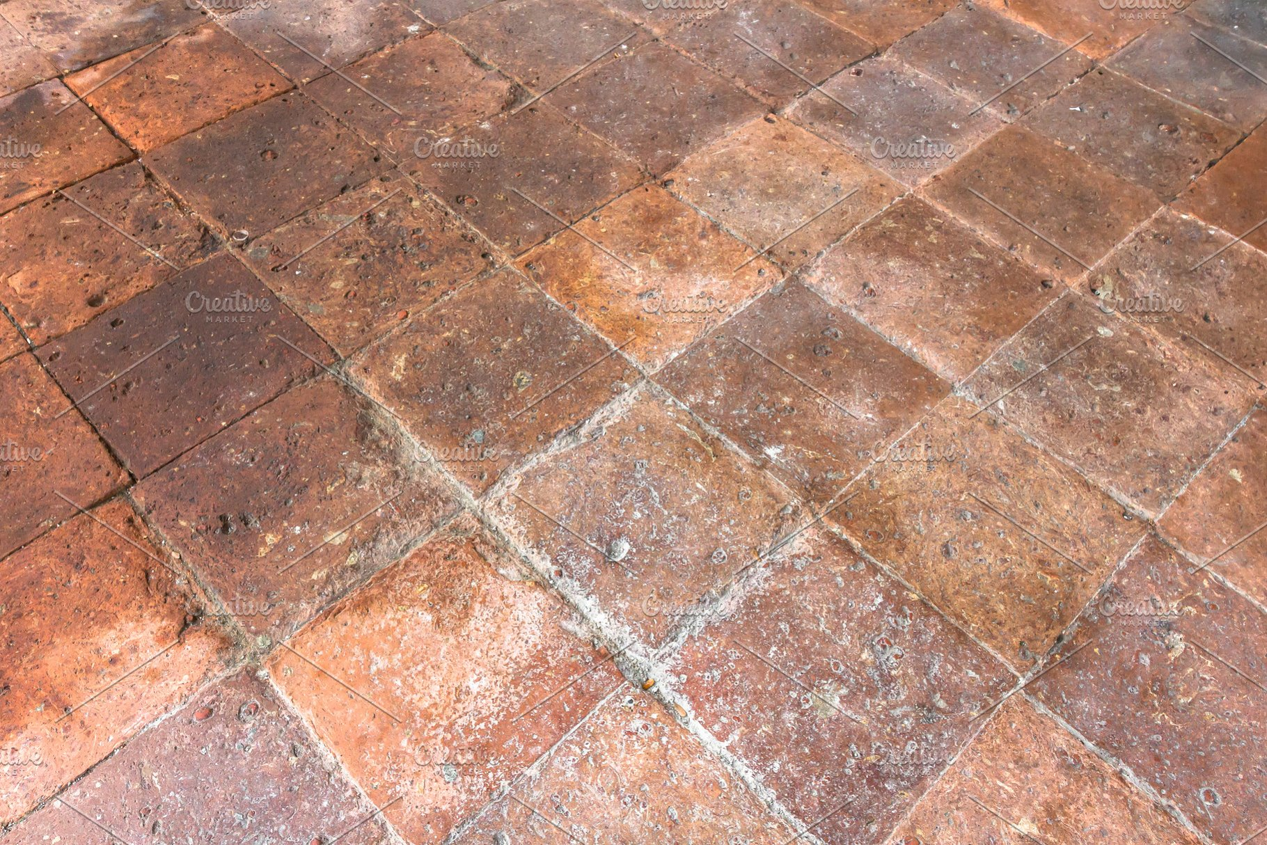 Old Terracotta Floor High Quality Architecture Stock Photos