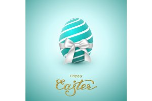 Easter holiday greeting card.