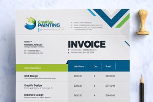 Creative Clean Invoice Template