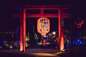 Far eastern light gate