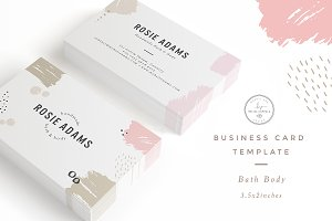 Bath Body Business Card