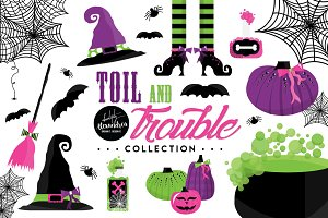 Toil & Trouble Graphics & Patterns