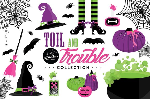 Toil Trouble Graphics Patterns