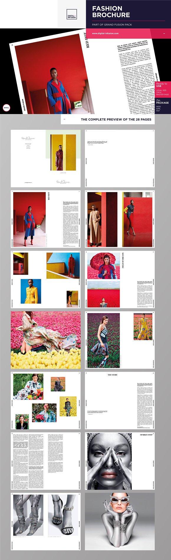 Grand Fusion - Fashion Brochure