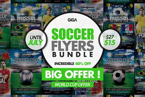 World Soccer Cup 2018 | 2in1 Flyer